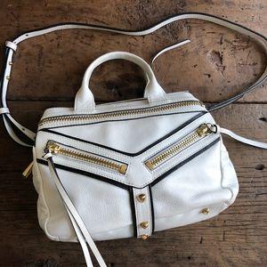 Botkier White Black Trigger Convertible Bag